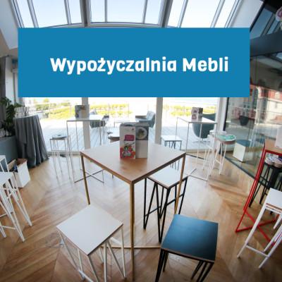 Wypozyczalnia Mebli PLIK Stoly koktajlowe Herbie Kolor Hokery Zig Zag Wynajem Mebli Magnetic Group Trojmiasto Gdynia Gdansk Sopot