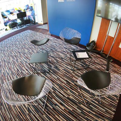 Fotele Diamond stoliki kawowe astro czarne Wypozyczalnia Mebli Magnetic Group Trojmiasto Gdynia Gdansk Sopot WYnajem MebliWEB